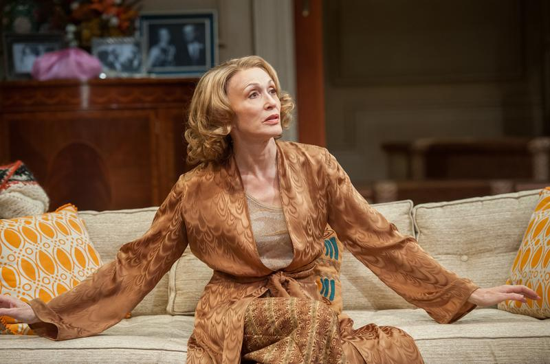 "Jan Maxwell in Lincoln Center Theater production of ""The City of Conversation,"" a new play by Anthony Giardina, directed by Doug Hughes, at the Mitzi E. Newhouse Theater"