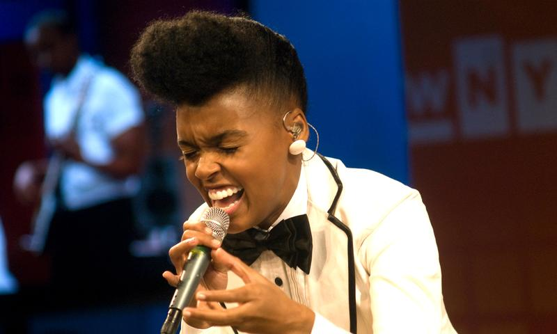 Janelle Monáe performs live at The Green Space in 2009