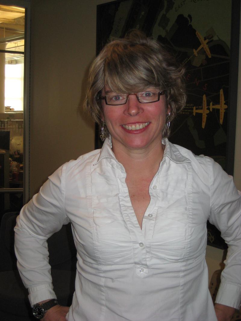 Jill Lepore in the WNYC studios