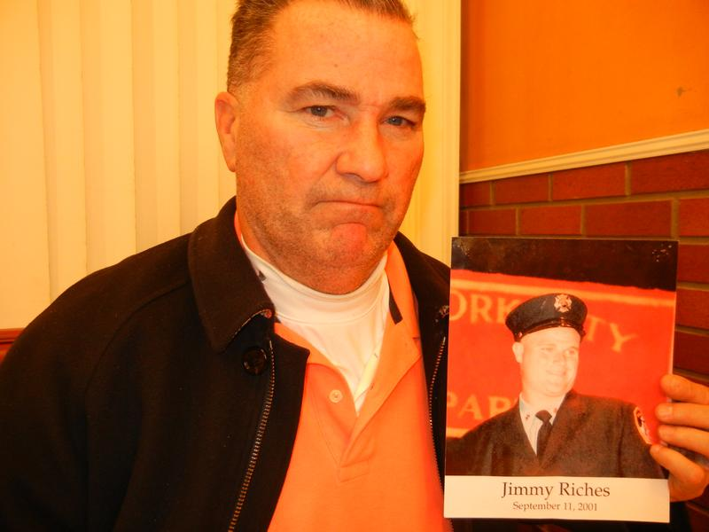 Retired Deputy New York City Fire Chief Jim Riches' son Jimmy was killed in the North Tower of the WTC. He's frustrated by the slow pace of the trial for those accused of plotting the 9/11 attacks.