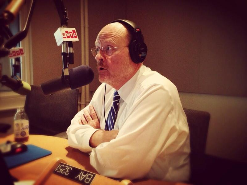Republican candidate for mayor Joe Lhota in the WNYC studios.