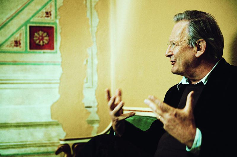 Conductor and author Sir John Eliot Gardiner