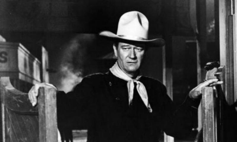 "John Wayne in ""The Man Who Shot Liberty Valance"""