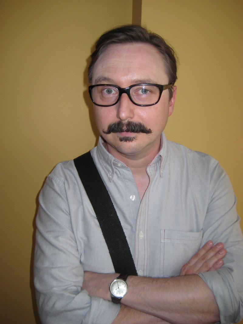 John Hodgman at WNYC June 20, 2013.