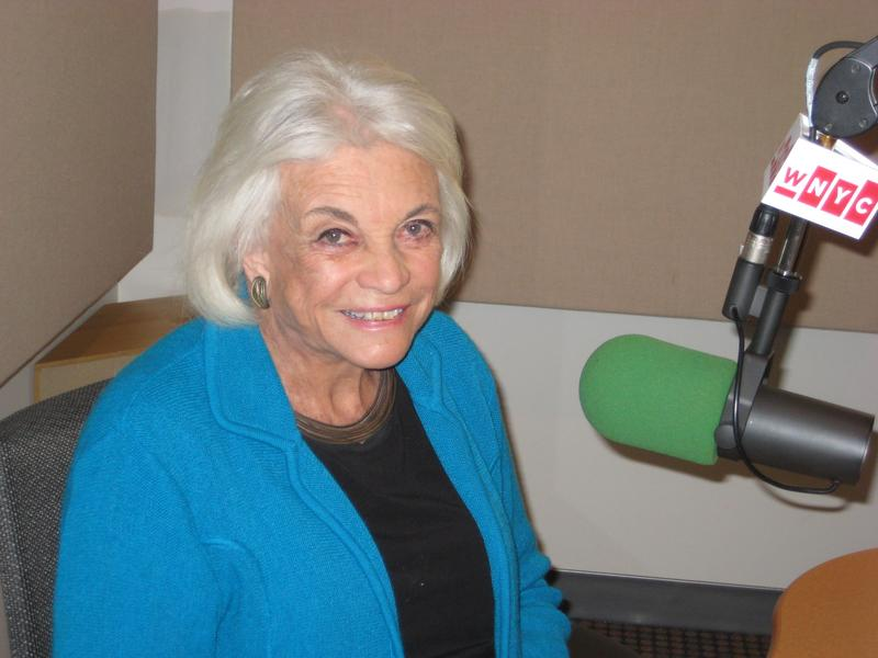 Retired Supreme Court Justice Sandra Day O'Connor in WNYC studios