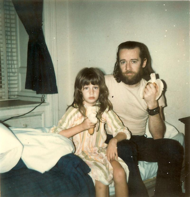 Kelly Carlin and George Carlin