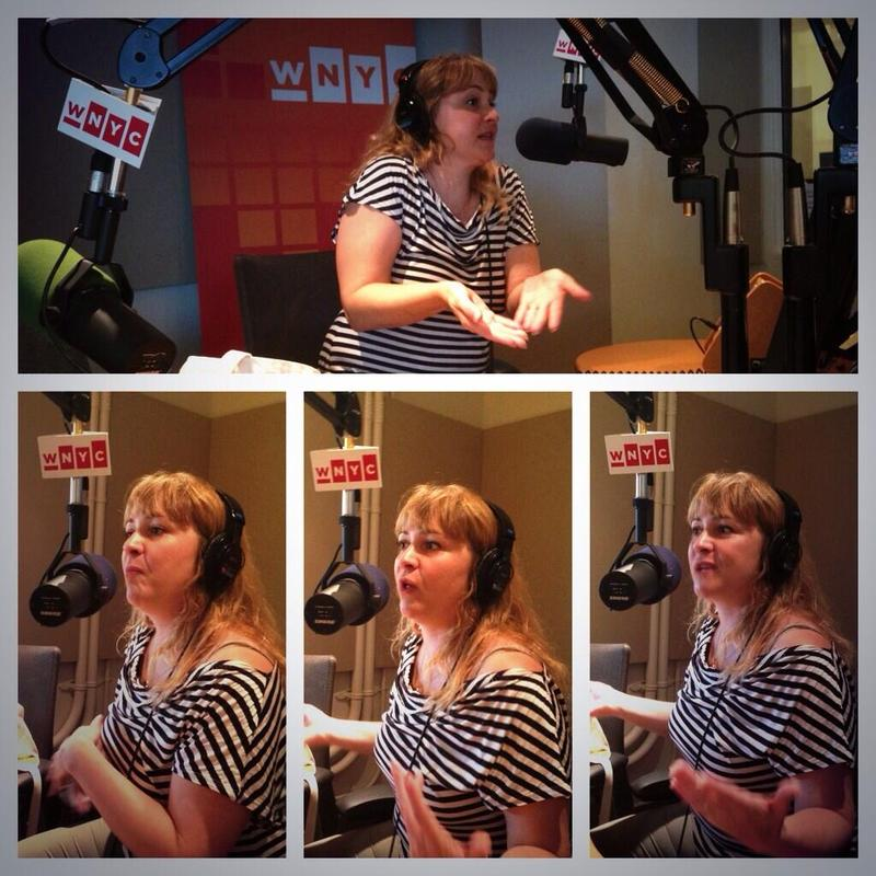 NPR correspondent Kelly McEvers in the WNYC studios.