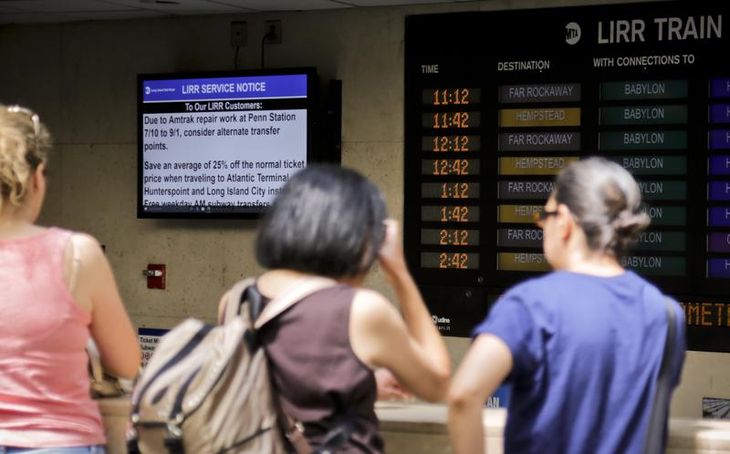 NJ commuters faced with decisions as Penn Station repairs begin
