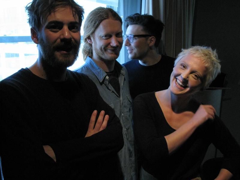 Laura Marling with Peter Randall, Nick Pini, and Matt Ingram