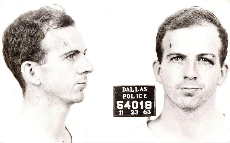 Arrest card of Lee Harvey Oswald, 1963