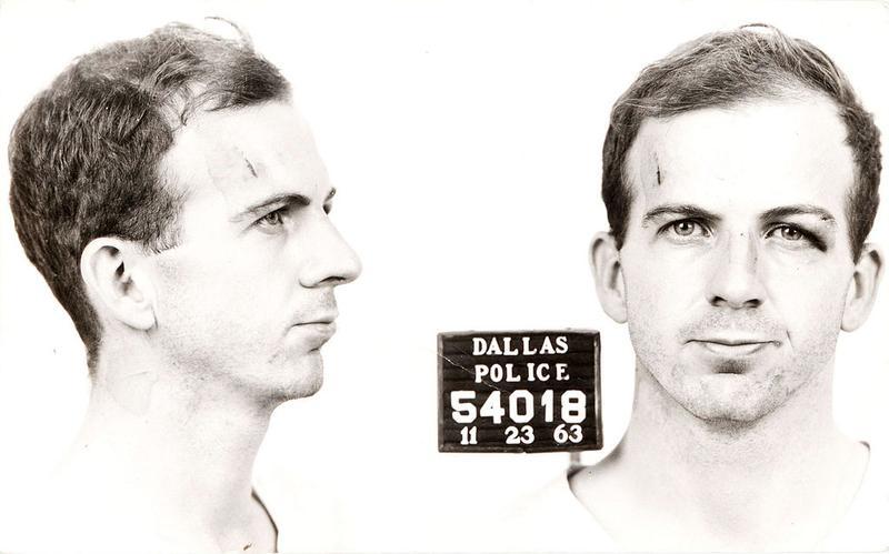 Arrest card of Lee Harvey Oswald, 1963