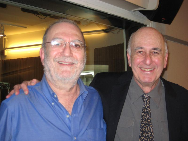 The Brothers Lopate - Leonard and Phillip - in the WNYC studios