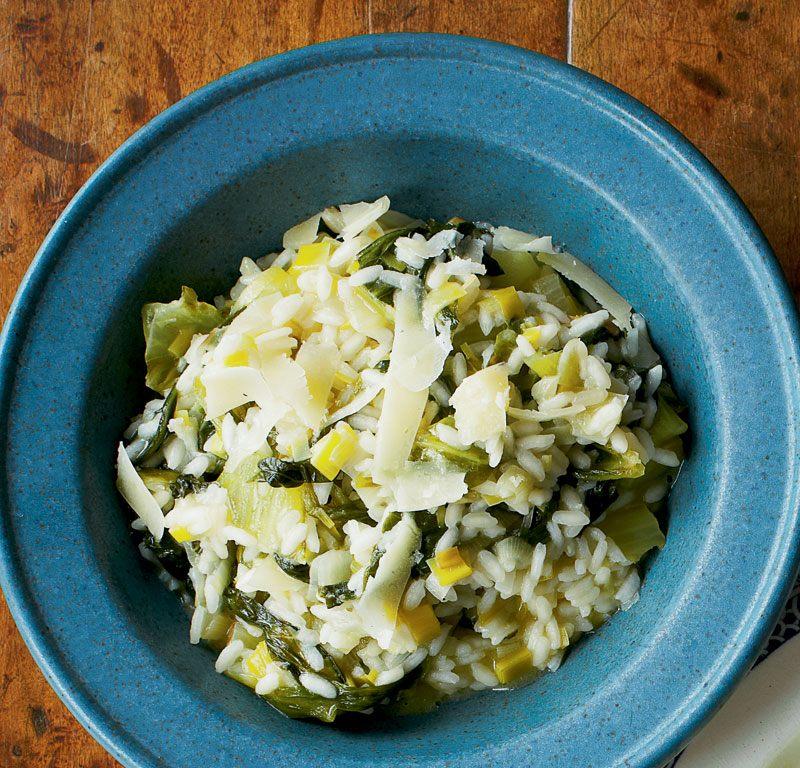 Lettuce Risotto