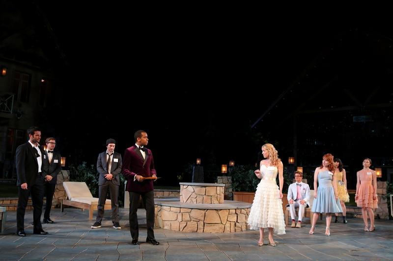 "The Public Theater's Shakespeare in the Park production of ""Love's Labour's Lost,"" at the Delacorte Theater in Central Park July 23-August 18"