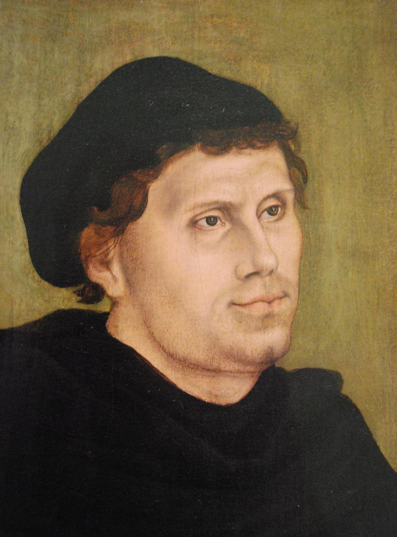 Martin Luther, 1483-1546.