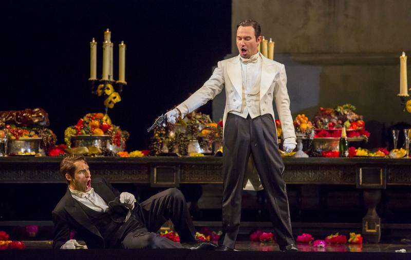 Kyle Ketelsen and Mariusz Kwiecień in 'Don Giovanni'