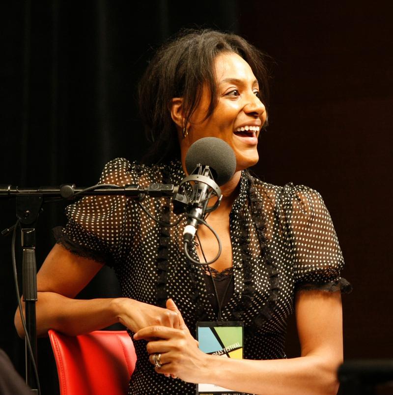 Sarah Jones at the Aspen Ideas Festival in 2008