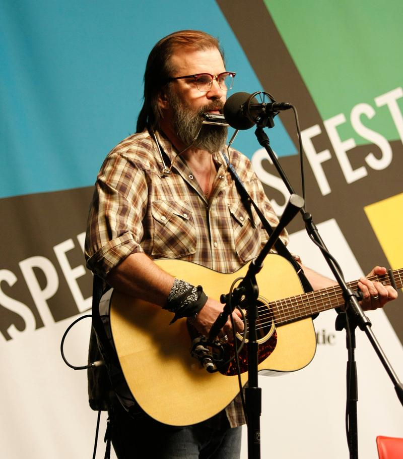 Steve Earle at the Aspen Ideas Festival in 2008