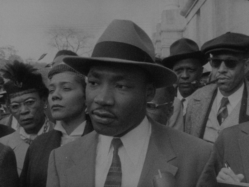 "Dr. Martin Luther King Jr. in ""King: A Filmed Record"""