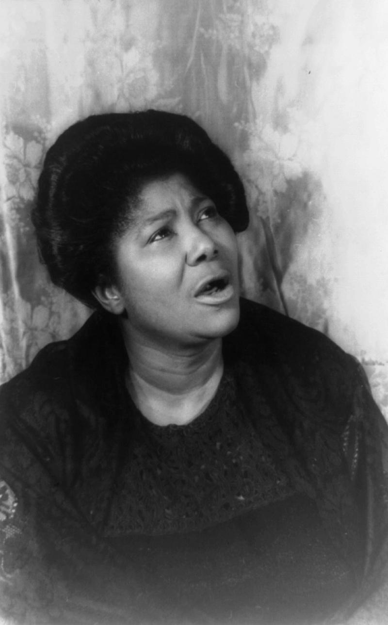 Mahalia Jackson, 1962
