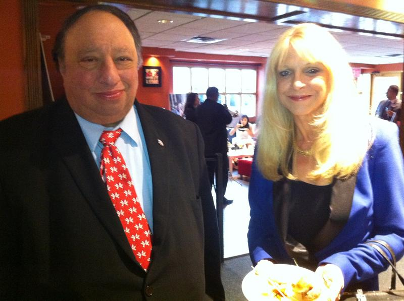 Republican mayoral candidate John Catsimatidis and his wife Margo at an event in Harlem.