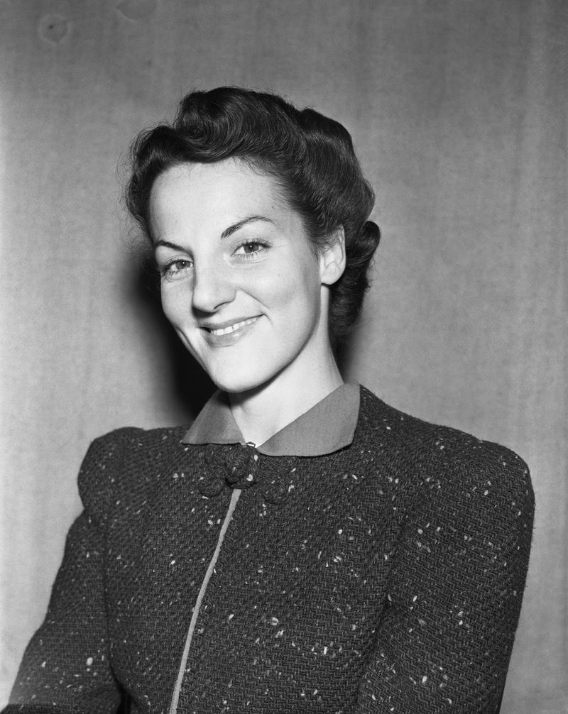 Marguerite Young during her time as an NEA fashion writer.