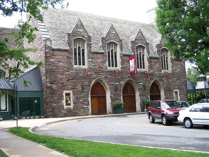 The McCarter Theater in Princeton