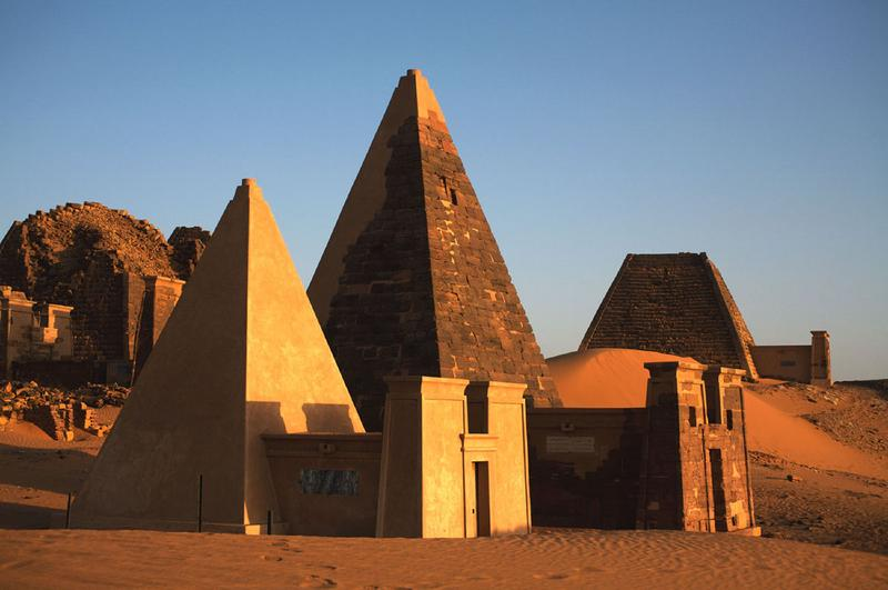 Meroe Pyraminds, in Nubia