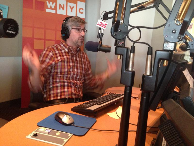 Mo Rocca in the WNYC Studios