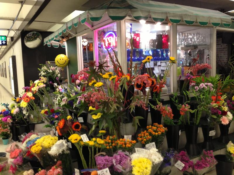 Montgomery Flowers in San Francisco's Montgomery BART Station is one of the small businesses that will suffer if a strike resumes