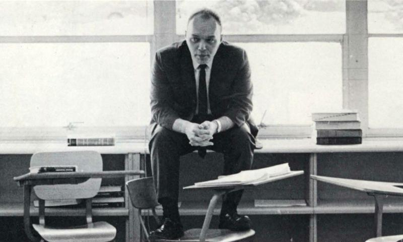 Gary Sedlacek at Westside High School in 1970