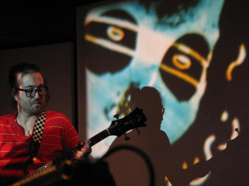 Sean Lennon with projections by Martha Colburn