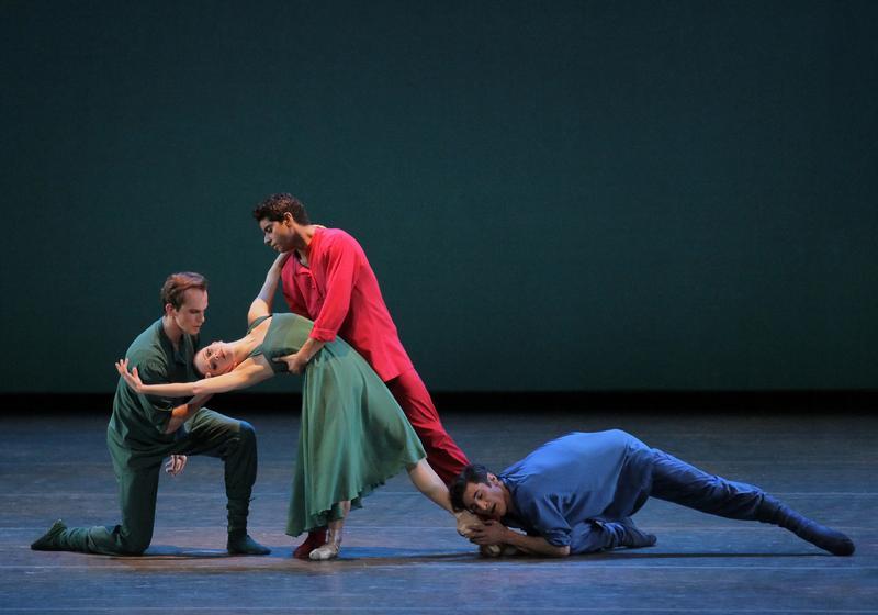 """Russian Seasons"" created by Alexei Ratmansky for New York City Ballet."