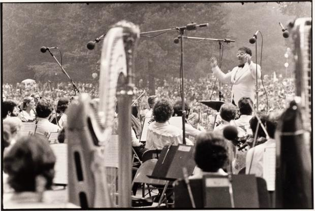 Zubin Mehta conducts the New York Philharmonic in the late 1970s