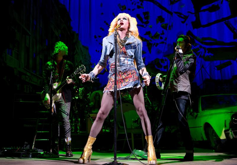 "Neil Patrick Harris as Hedwig in ""Hedwig and the Angry Inch"" at Broadway's Belasco Theatre"