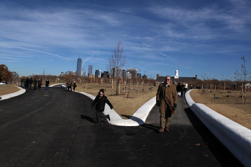 A 30-acre park on Governors Island designed by a Dutch firm, which will be open to the public in 2014.
