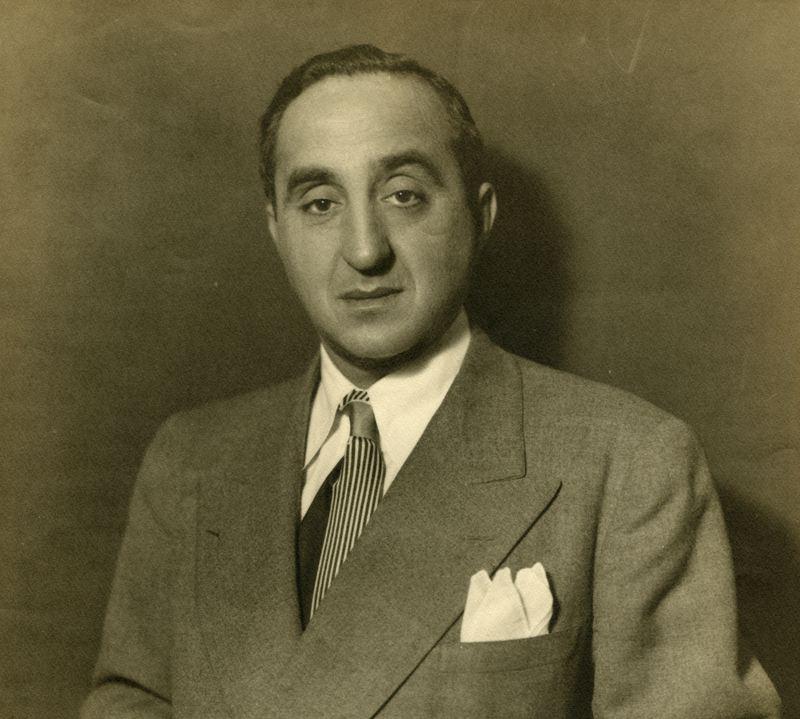 WNYC Director Morris S. Novik (1903-1996), circa 1945