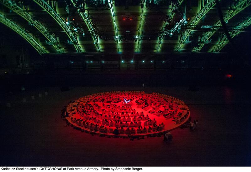 Karlheinz Stockhausen's OKTOPHONIE at Park Avenue Armory.