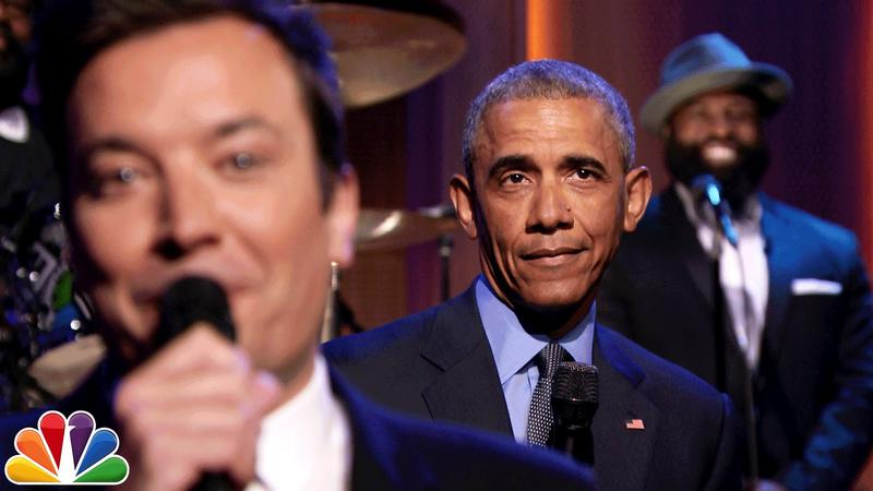 A fun thing to do: Obama slow jams the news with Tonight Show host Jimmy Fallon.