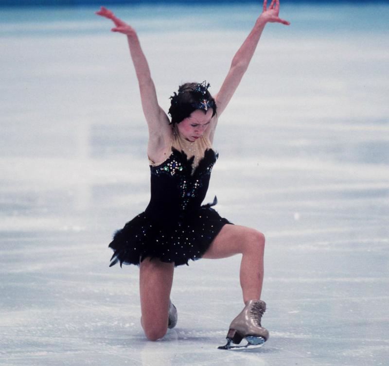 Oksana Baiul at the 1994 Winter Olympics in Lillehammer