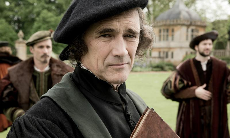 Mark Rylance as Thomas Cromwell in the TV adaptation of <em>Wolf Hall</em>
