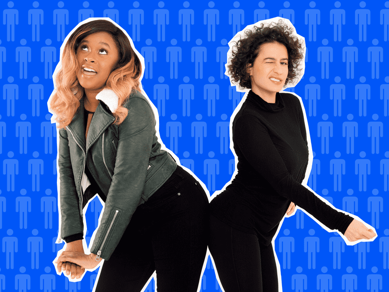 Phoebe Robinson and Ilana Glazer grab back!