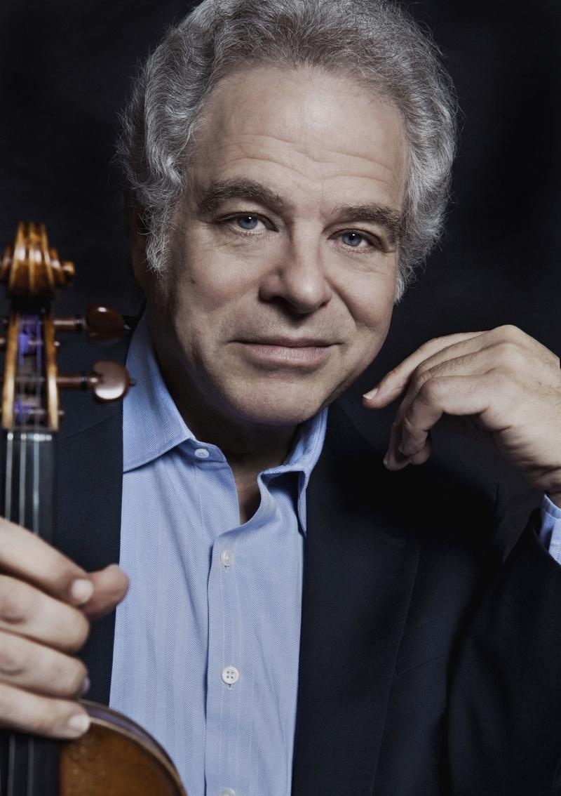 Violinist Itzhak Perlman.