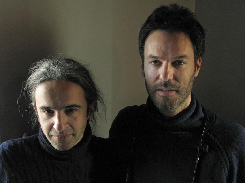 Piers Faccini (right) with Simone Prattico