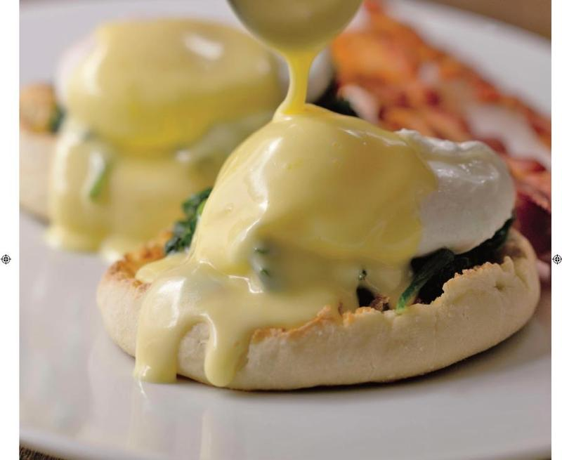 Poached egg dish. From Cooking at Home, by the Culinary Institute of America