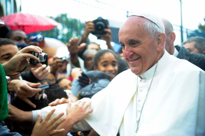 Pope Francis in Varginha, Brazil, July 27, 2013