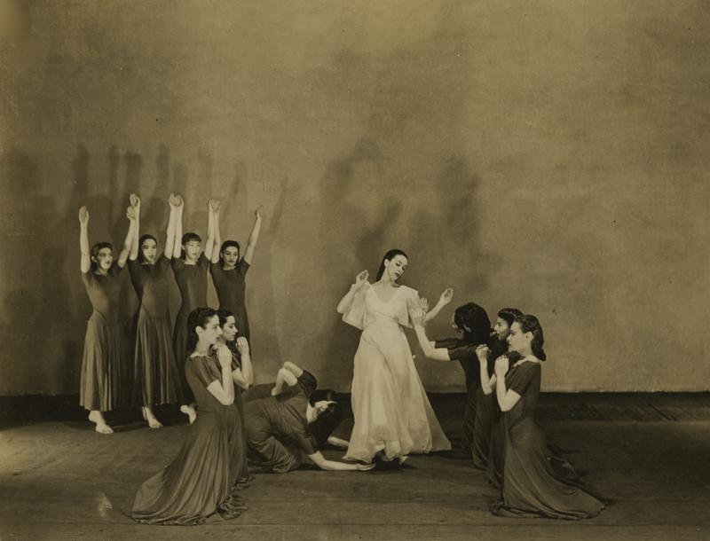 "An  archival photo of Martha Graham's ""Primitive Mysteries"" which first premiered in 1931."