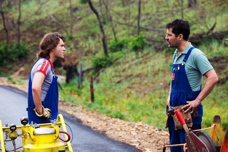 "Emile Hirsch and Paul Rudd in ""Prince Avalanche,"" a Magnolia Pictures release."