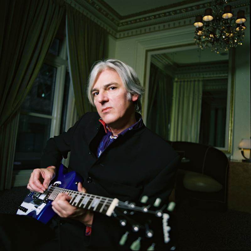 Robyn Hitchcock's latest album is 'The Man Upstairs.'