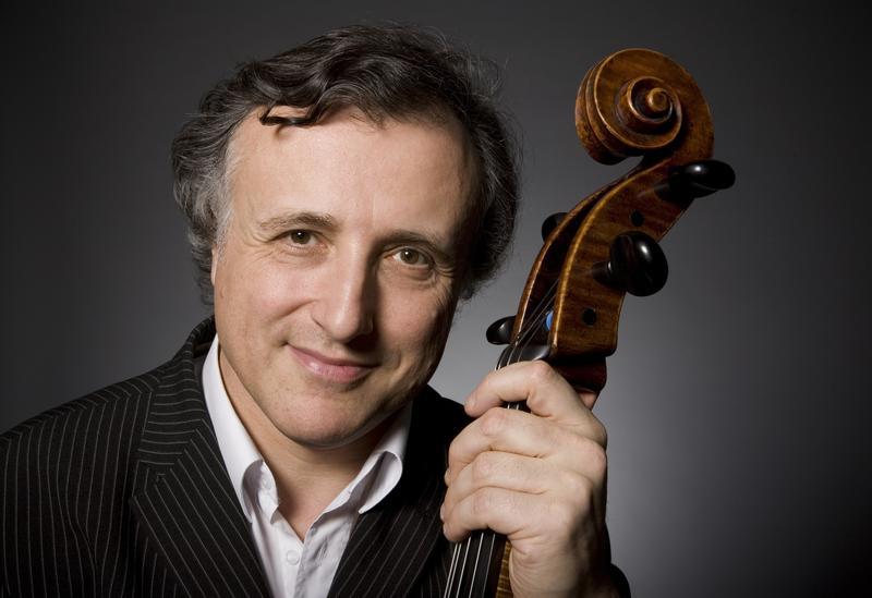Cellist Raphael Wallfisch.